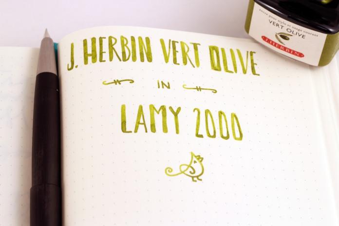 J Herbin Leuchtturm Lamy 2000